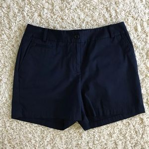 Talbots blue shorts. Size 6